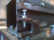 la cremagliera diy progetti cnc in ferro 8 montaggio cremagliere