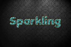 Sparkling Text Cyan Sparkling Jewelry Text Effect