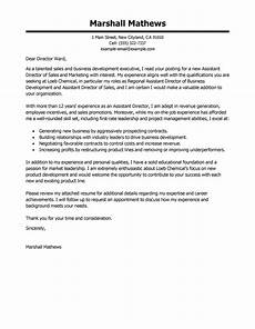 Executive Position Cover Letters Best Assistant Director Cover Letter Examples Livecareer
