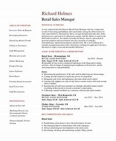 Objective For Resume Retail Free 5 Retail Resume Objective Templates In Ms Word Pdf