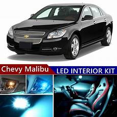 2012 Chevy Malibu Lights 10 Pcs Led Ice Blue Light Interior Package Kit For Chevy