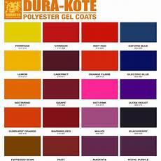 Ccp Gelcoat Color Chart Dura Kote Gel Coats Vibrant Durable Gel Coats