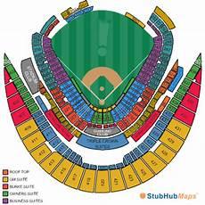 Kauffman Stadium Row Chart Kauffman Stadium