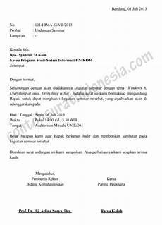 surat undangan contoh surat indonesia