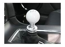555 1251 Steeda White Cue Ball Shift Knob Amp Collar For 11 13