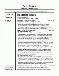 Best Teacher Resume Sample Resumes Teacher Resume
