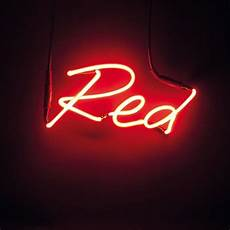 Indigo Light Up Letters Neon Colour Word Lamp Red 135 Liked On Polyvore