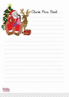 Lettre Au Pere Noel La Lettre Au P 232 Re No 235 L 224 Imprimer Version Fille Dr 244 Les