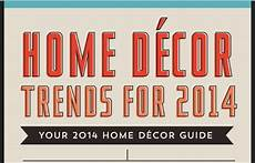 Home Decor Styles 2014 Home Decor Trends For 2014 Infographic Visualistan