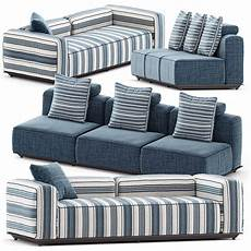 Patio Sofa Set 3d Image by 3d Hybrid Outdoor Sofa Set2 By Bb Italia Cgtrader