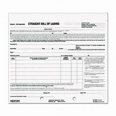 Short Form Bill Of Lading Short Form By Rediform 174 Red44302