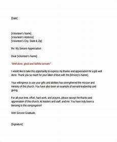 Letter Of Recommendation For Hospice Volunteer 10 Volunteer Reference Letter Templates Pdf Doc Free