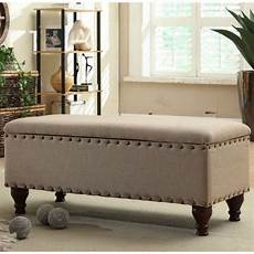 storage bench sitting foot of bed ottomans and