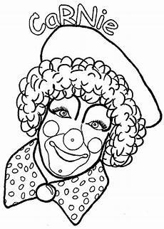 clowns coloring pages coloringpages1001