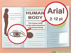 How To Make A Good Leaflet How To Make A Leaflet With Pictures Wikihow