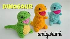 dinosaur amigurumi tutorial free crochet pattern open