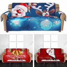 And Sofa Covers 3d Image by 3d Sofa Covers Santa Claus Elk Printed Sofa Cover