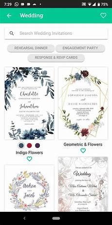Free E Invitation Maker 5 Best Wedding Invitation Card Maker Apps For Android