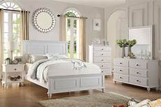 white solid wood c king bed f9270 poundex modern f9270ck