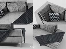 Miniature Sofa 3d Image by Free Sofa 3d Model 002 On Behance