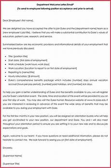 Letter Format For Word How To Write A Welcome Letter 12 Samples Amp Examples