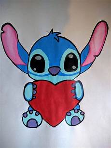 painting of stitch from lilo and stitch i i m not