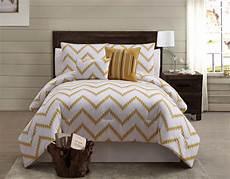 zigfield 5 100 cotton comforter set gold