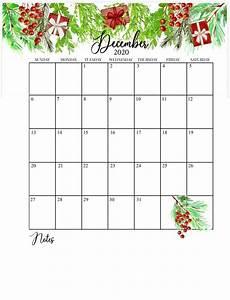 Free December 2020 Calendar Floral 2020 Calendar Printable In 2020 Calendar
