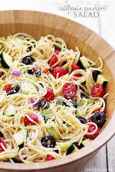 Recipes For Pasta Salad California Spaghetti Salad The Recipe Critic