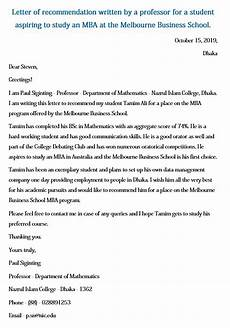 Letters Of Recommendation For Mba 7 Mba Recommendation Letter Pdf Word Doc Mous Syusa