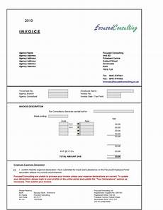 Invoice Format For Consultancy Typical Invoice Layout Invoice Template Ideas