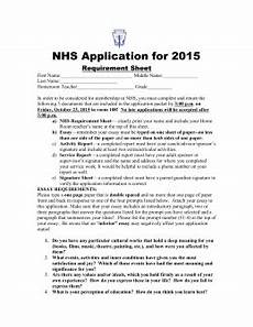 Nhs Application Essay Examples Nhs Essay