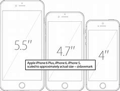 Image result for iPhone 6 Actual Size Template