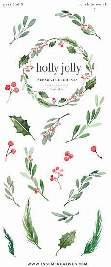 Christmas Card Borders Free Watercolor Christmas Wreath Clipart Christmas Card