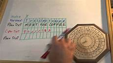 How To Use Keywords Cipher Wheel 03 Keyword Cipher Youtube