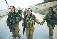 Soldier Hard See The Light Number Of Female Idf Combat Soldiers To Increase