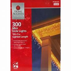 Home Accents Holiday Icicle Lights Home Accents 300ct Mini Clear Icicle Christmas Holiday