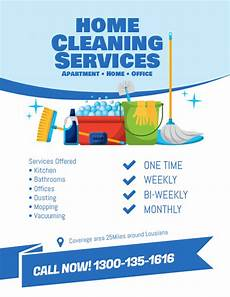 Cleaning Services Advertising Copy Of Cleaning Services Flyer Template Postermywall