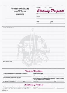 Cleaning Service Estimate Template 9 Best Images Of Free Printable Cleaning Business Forms