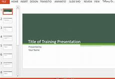 Training Presentation Training Presentation Template For Powerpoint
