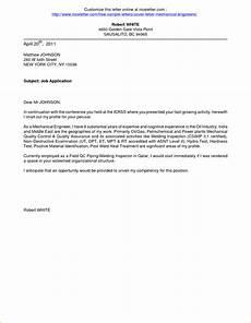 Cover Letter For Online Application Application For Employment Cover Letter Business Letter