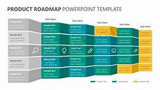 Powerpoint Roadmap Template Product Roadmap Powerpoint Template Pslides