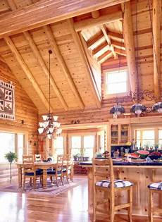 How To Plan Lighting For A House Kitchen Lighting In The Log Home Real Log Homes