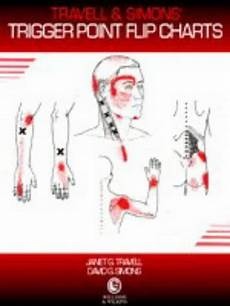 Travell Trigger Point Chart Travell And Simons Trigger Point Flip Charts By Janet G