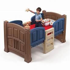 boy s loft storage bed furniture by step2