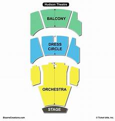 Hudson Theater Seating Chart Hudson Theatre Seating Chart Seating Charts Amp Tickets