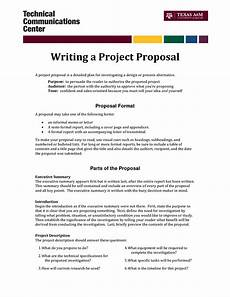 Proposal Writing Sample Informal Proposal Letter Example Writing A Project
