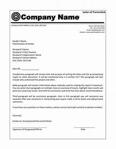 Transmittal Letter Templates Letter Of Transmittal 40 Great Examples Amp Templates ᐅ