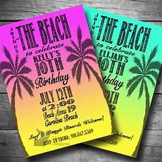 Beach Party Invitation Wording 108 Best Images About Parties Surfer Beach On Pinterest