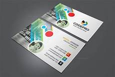 Colorful Business Cards Psd Colorful Business Card Template Catalog